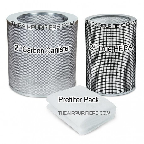AirPura F600 HEPA, Carbon Canister, Prefilter Bundle
