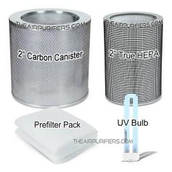 AirPura UV600 Bundle 2 True HEPA, Carbon Canister, UV, Prefilter