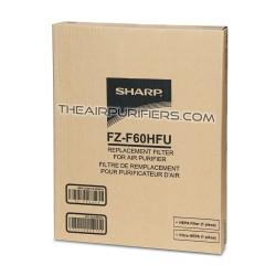 Sharp FZF60HFU (FZ-F60HFU) HEPA Filter for Sharp FP-F60UW