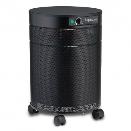 AirPura C600 Air Purifier for Heavy Chemicals Black