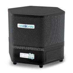 Amaircare 2500ET Easy-Twist Air Purifier Slate Angle