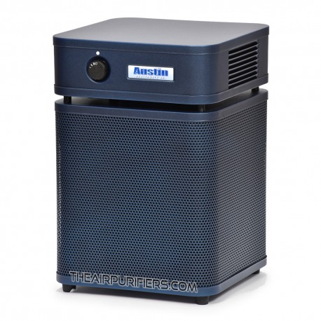 Austin Air HealthMate Plus Junior Air Purifier in Midnight Blue