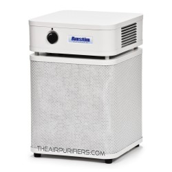 Austin Air Allergy Machine Junior Air Purifier White