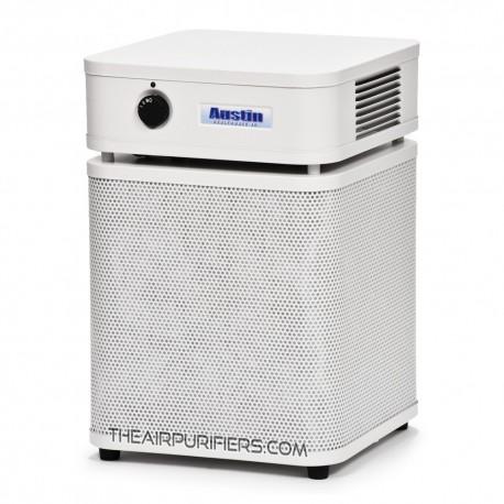 Austin Air Allergy Machine Junior Air Purifier White