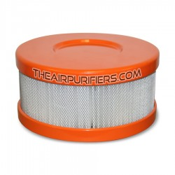 Amaircare 90-A-04OR-SO Roomaid Mini Snap-On HEPA Filter Orange