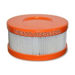 Amaircare 90-A-04OR-SO Roomaid Mini Snap-On HEPA Filter Orange