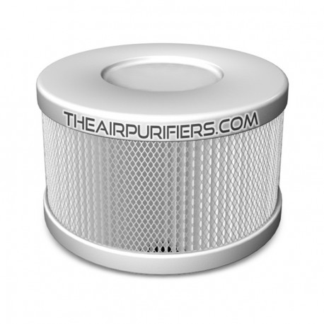 Amaircare 90-A-53WP-SO Roomaid Snap-On HEPA Filter Pure White