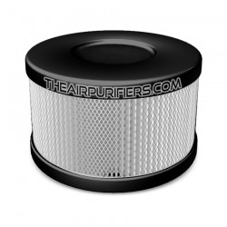 Amaircare 90-A-53BS-SO Roomaid Snap-On HEPA Filter Black