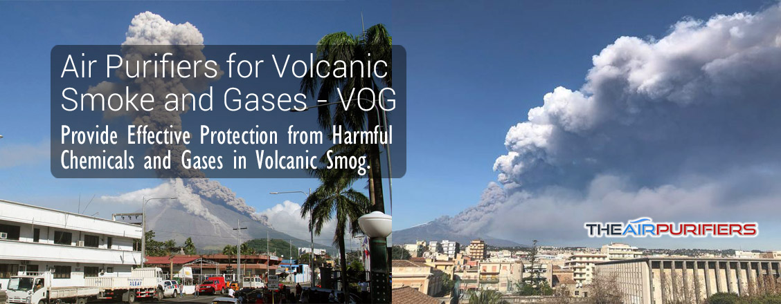 Air Purifiers for Volcanic Smog VOG at TheAirPurifiers.com