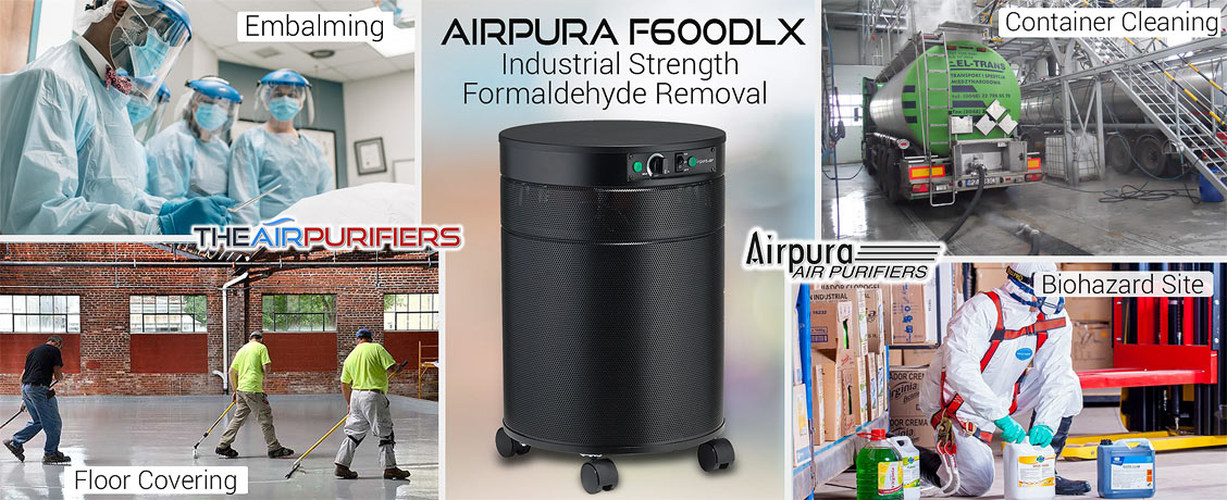 AirPura F600DLX Industrial Strength Formaldehyde Removal