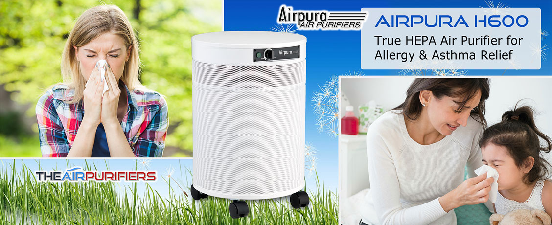 AirPura H600 Allergy and Asthma Relief Air Purifier at TheAirPurifiers.com