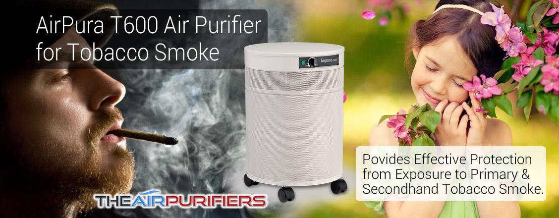 AirPura T600 Tobacco Smoke Removal Air Purifier at TheAirPurifiers.com