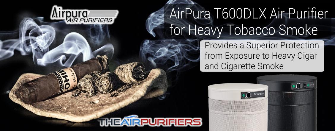 AirPura T600DLX Heavy Tobacco Smoke Air Purifier at TheAirPurifiers.com