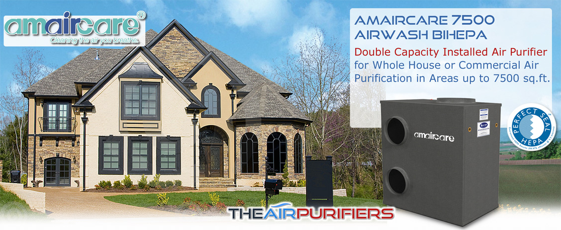 Amaircare 7500 BiHEPA Central Air Purifier at FilterDepot.ca