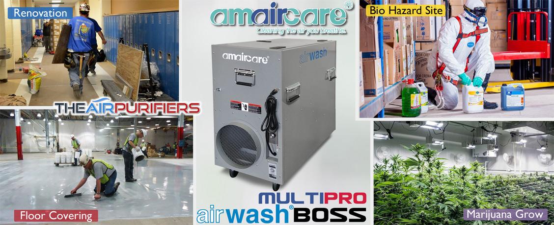 Amaircare AirWash MultiPro Boss Heavy Duty Air Purifier at TheAirPurifiers.com