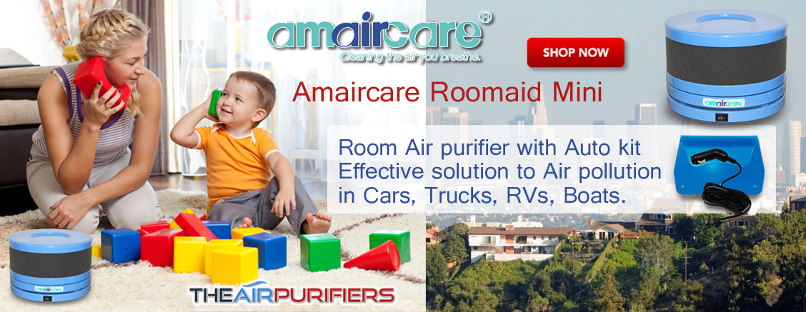 Amaircare Roomaid Mini Air Purifier at TheAirPurifiers.com