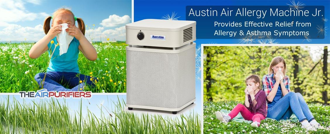 Austin Air Allergy Machine Junior Air Purifier at TheAirPurifiers.com