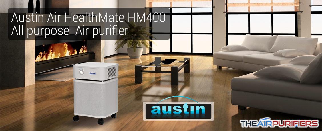 Austin Air HealthMate HM400 All Purpose Air Purifier at TheAirPurifiers.com