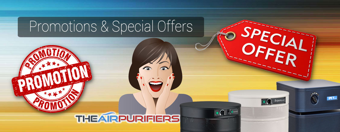 Promotions and Special Offers at TheAirPurifiers.com