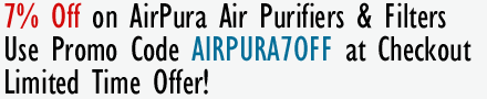 7% Off on Airpura Air Purifiers & Filters