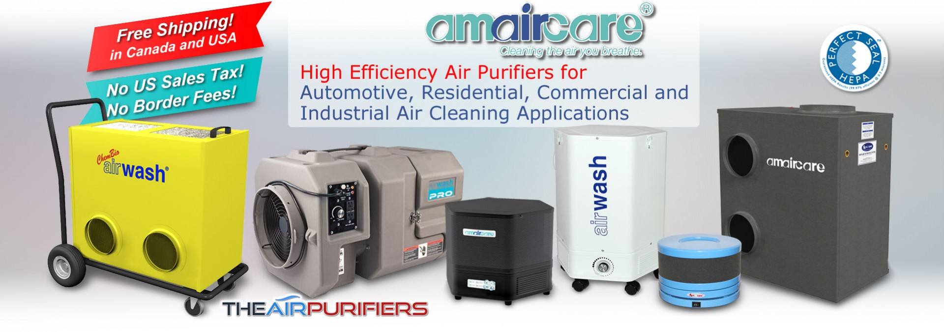 Amaircare Air Purifiers for All Air Purifier Needs