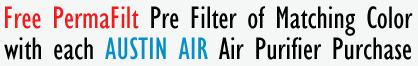 Austin Air Free Pre Filter
