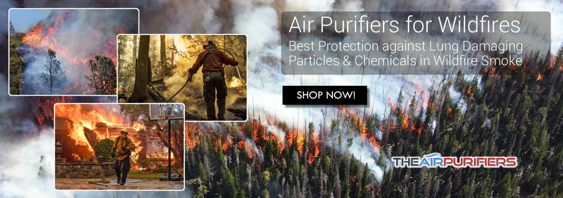 Air Purifiers for Wildfire Smoke at TheAirPurifiers.com