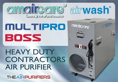 Amaircare AirWash MultiPro BOSS Heavy Duty Contractors Air Purifier